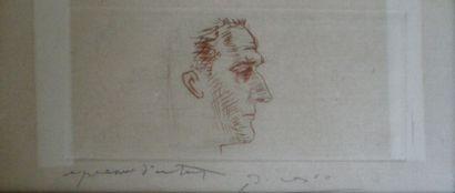 PICASSO Pablo (1881-1973) Portrait de Marcel...