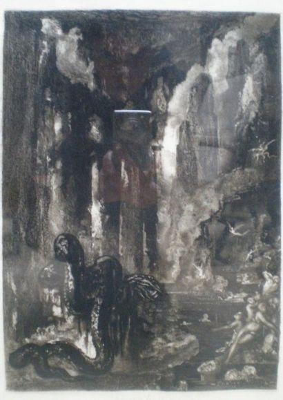 MOREAU Gustave (1826-1898) d'après  Le Serpent...