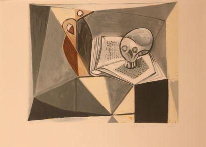PICASSO Pablo (1881-1973) d'après Tête de...