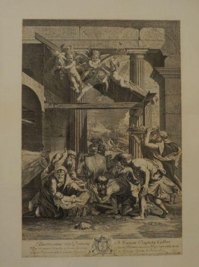 POUSSIN Nicolas (1594-1665) d'après PICART...