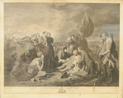 WEST Benjamin (1738-1820) d'après WOOLLETT...