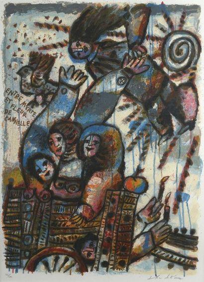 TOBIASSE Théo (1927-2012) Entre myrte et...