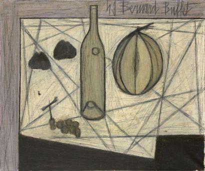 BUFFET Bernard (1928-1999) Nature morte...