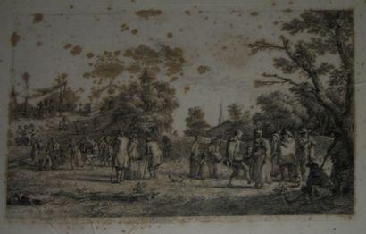 BOISSIEU Jean-Jacques de (1736-1810), graveur La...