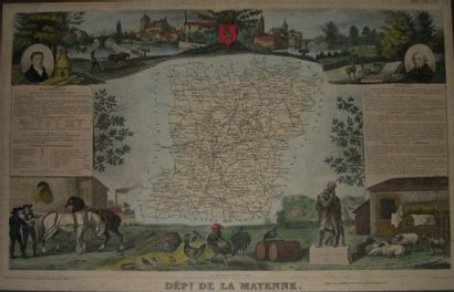 LEVASSEUR Victor (XIXème siècle) Département...