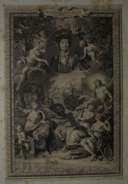 RIGAUD Hyacinthe (1659 - 1743), d'après PICART...