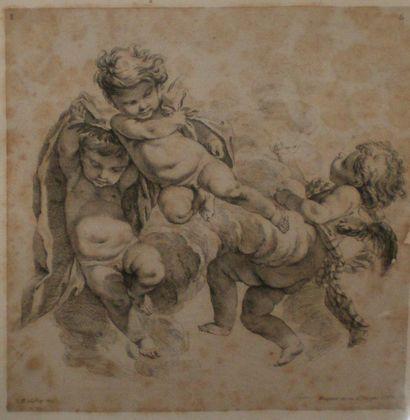 BOUCHER François (1703-1770) d'après HUQUIER...
