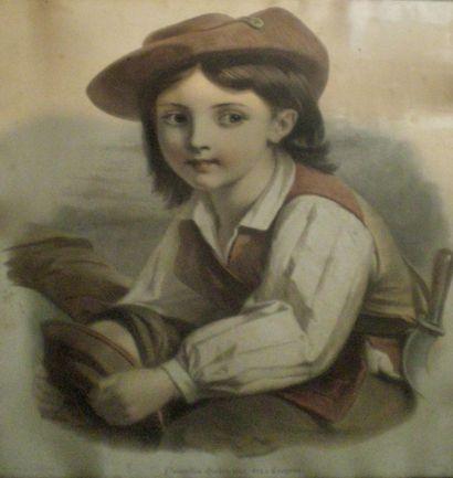 LAFOSSE d'après - TURGIS L. Jeune - Imprimeur Roubelles...