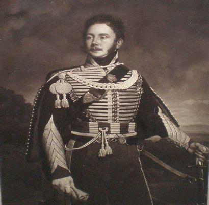 Ad BRAUN & Cie (1876-1968) Portrait du comte...