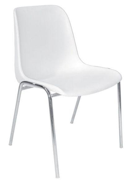 CHAISECoque Kermesse chaise blanche, 43...