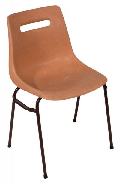 CHAISE Coque Kermesse Marron chaise marron,...