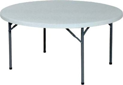 TABLE Lorcatable pliante Ø 152 x 74,5cm QUANTITE...