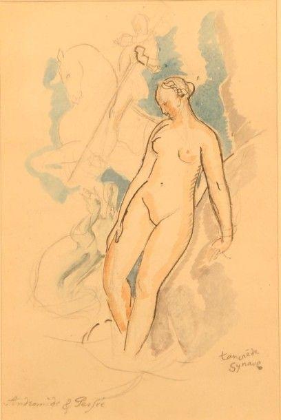 SYNAVE Tancrède (1860-1936)  Andromède et...