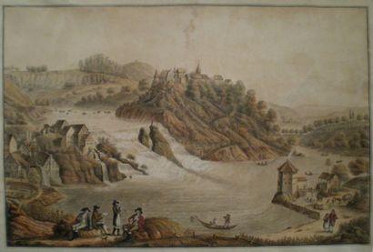 LORY Gabriel Ludwig (1763-1840)  Paysage...