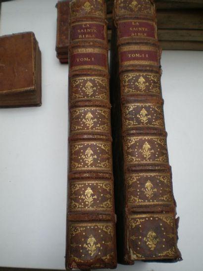 [BIBLE PROTESTANTE]. La Sainte-Bible en français....
