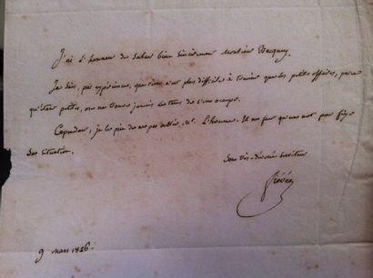 FIEVEE Joseph. (1767-1839) Maître des Requêtes...