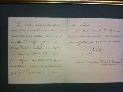 LOTI Pierre (Rochefort 1850-1923). Ecrivain....