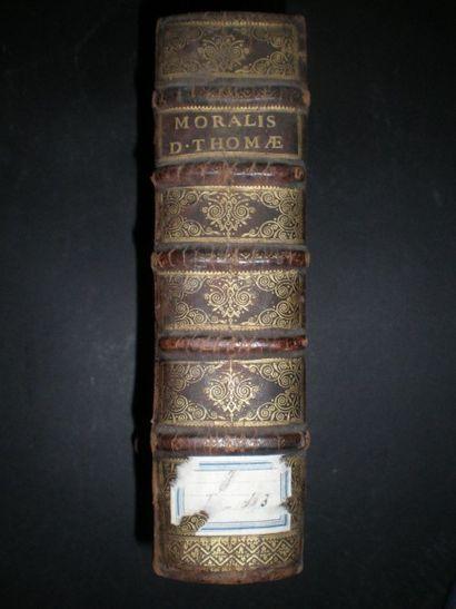 BANCEL. Moralis divi Thomae doctoris angelici...