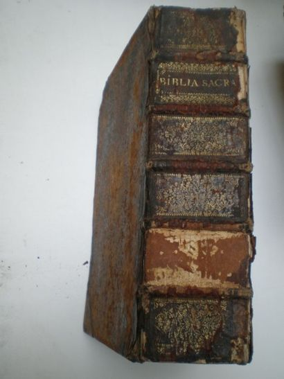 Biblia sacra Vulgatae editionis Sixte V,...
