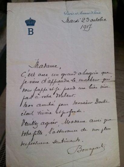 BONAPARTE Roland (1858-1924), petit fils...