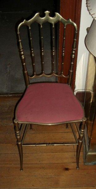 Chaises en bronze