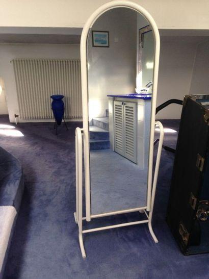 Lot composé d'un petit miroir à poser inclinable...