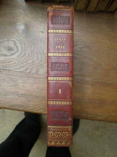 AMAR (J.A) et LEMAIRE (N.E.). Libri quinque...