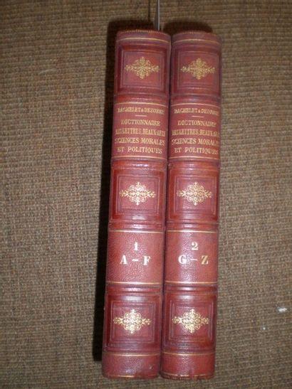BACHELET (Th.). Dictionnaire général des...