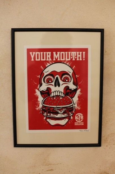 BRACK Harry  Your Mouth  Sérigraphie  Numérotée...