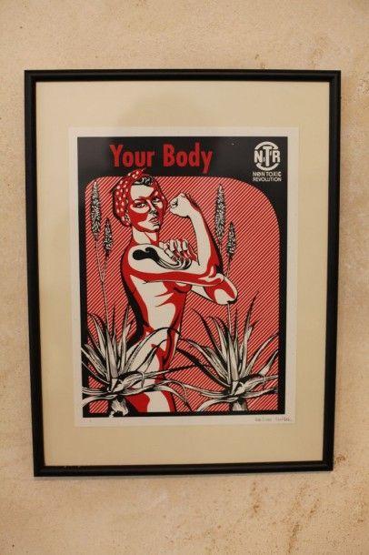 CATUCCI Luisa  Your body  Sérigraphie  Numérotée...