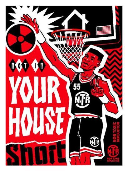 SHORT  Your House  Sérigraphie  30.5 x...