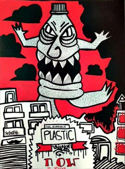 PIERRE GREGORI Plastic Sucks Oeuvre originale...