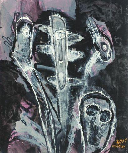 Mario MURUA  Artiste vit et travaille à...