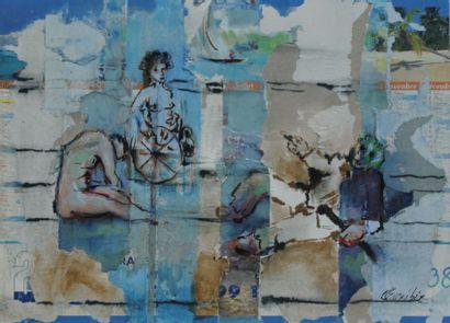 Claudine EUXIBIE  Peintre issue de l'école...