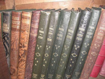 Livres reliés et brochés dont jeanne d'arc...