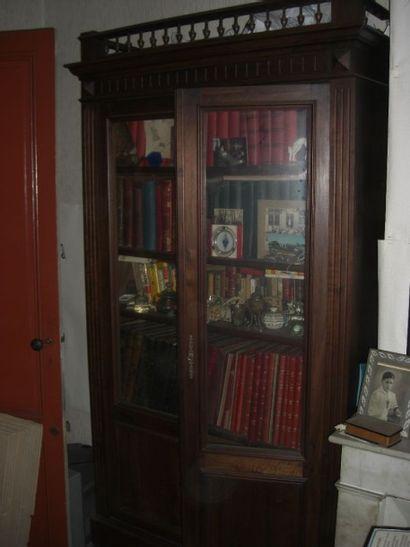 vitrine portes vitrées