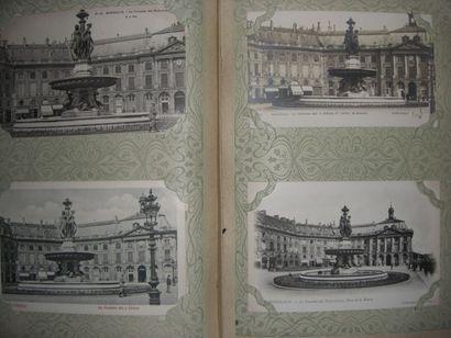 Important lot de cartes postales sur les...