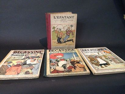 Quatre livres : Bécassine chez les Turcs...