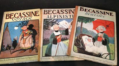 Trois livres : Bécassine Nourrice -  Bécassine...
