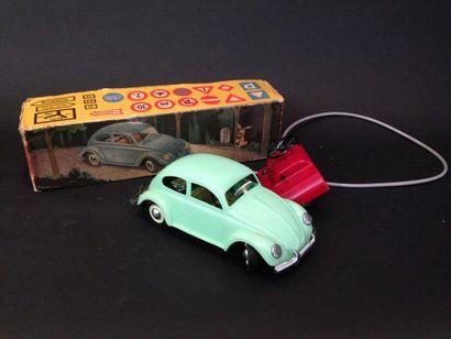 MIGNON : coccinelle VW verte en boite  d...
