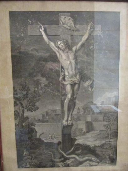École française du XVIIIème siècle  Christ...