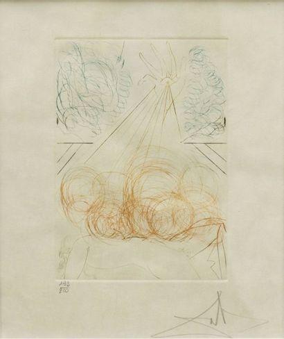 DALI Salvador (1904-1989)  Cymbelime  Lithographie...