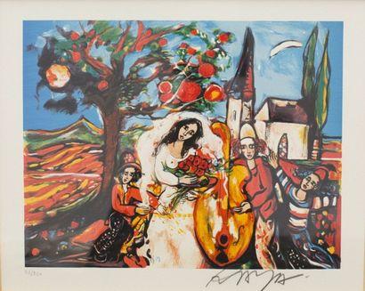 RAYA-SORKINE Alain (né en 1936)  Sans titre...
