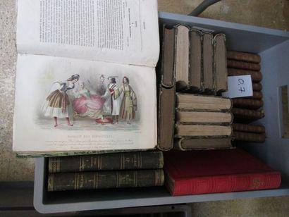 Caisse littérature : Oeuvres de Chateaubriand...