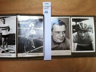 [Cyclisme] Album de 43 photo-cartes, la plupart...