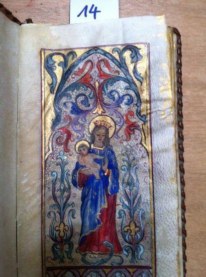 [Manuscrit] Livre de Messe rédigé sur parchemin...