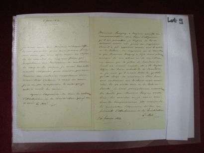 MOLE Mathieu, comte (1781-1855), Conseiller...