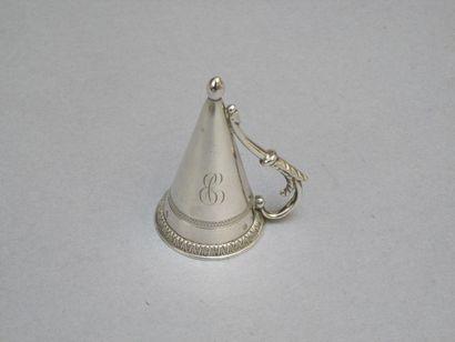 Mouchette en argent (1819-1838) de forme...