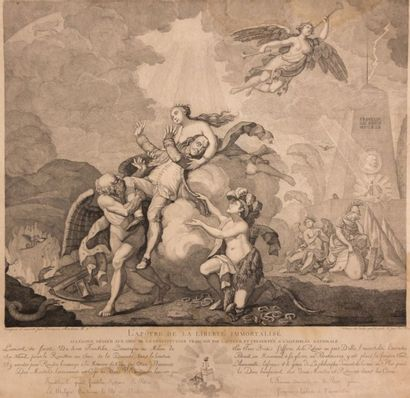 MONBRUN-BARINCOU (? - 1812)  (dessinateur...