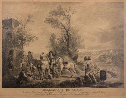 FALENS Carel Van (1683 - 1733) d'après  (dessinateur)...
